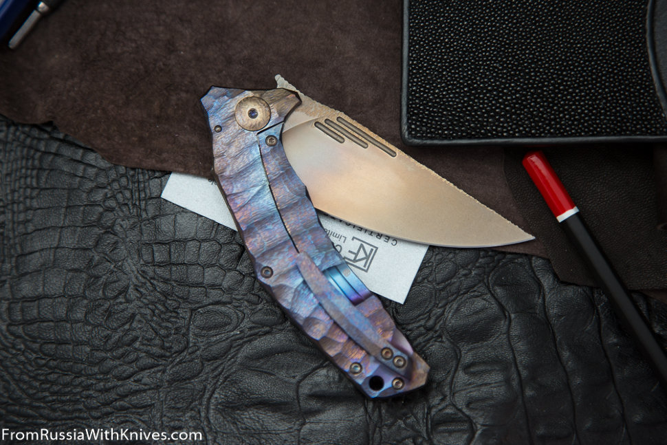 Customized Morrf Knife (Design: Evgeniy Muan, Customization: Stas Bondarenko)