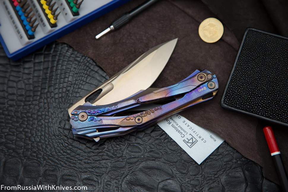 #40 Customized Decepticon-1 Knife (Alexey Konygin design, Stas Bondarenko customization)