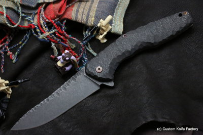 #32 ELF Knife (Anton Malyshev design, Stas Bondarenko customization)