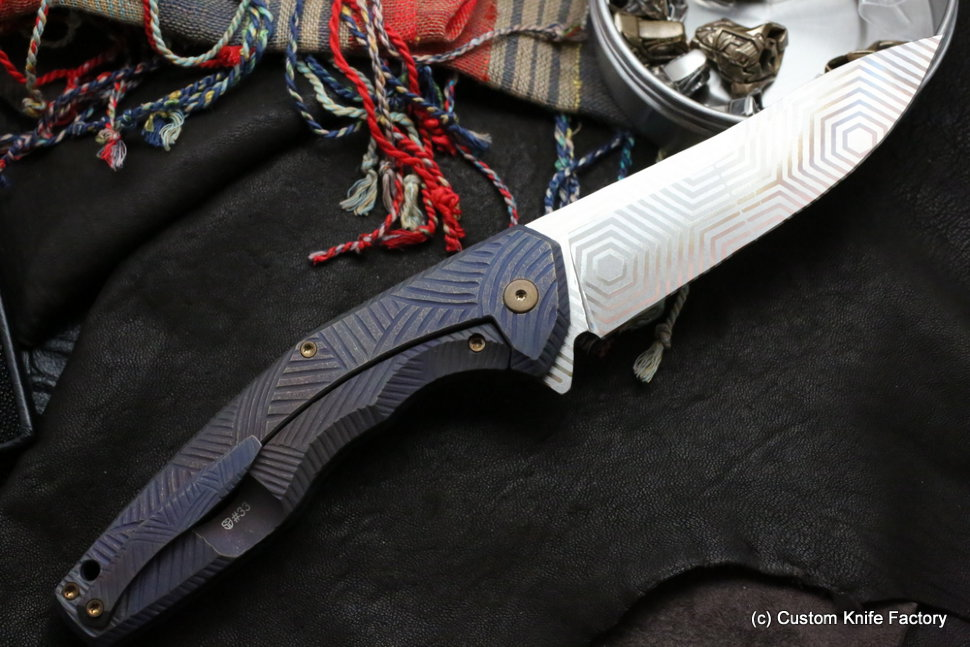 #33 ELF Knife (Anton Malyshev design, Stas Bondarenko customization)
