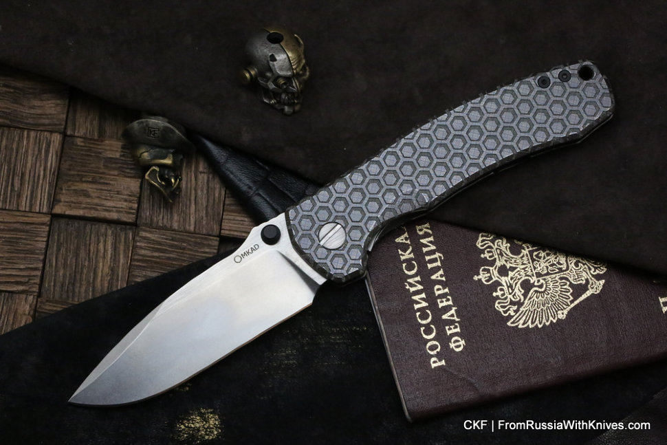 One-off MKAD by CKF Loro knife -3DSOT-