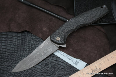 #14 Customized ELF Knife (Anton Malyshev design, Stas Bondarenko customization)