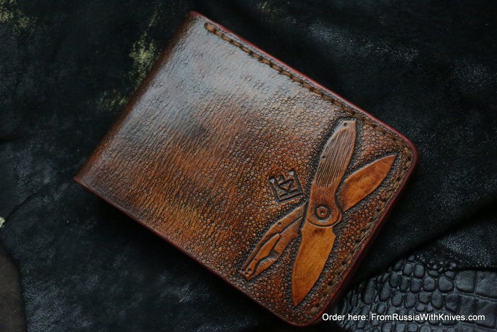 Custom Leather Wallet CKF Gavugi