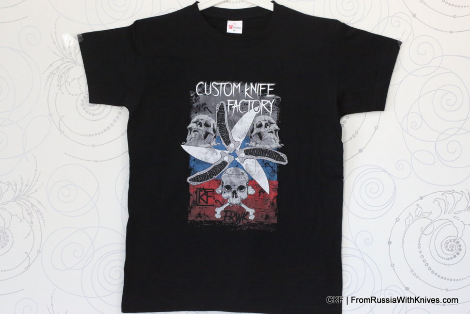 CKF Men's T-shirt -MUA- (L-size)
