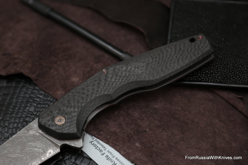 #15 Customized ELF Knife (Anton Malyshev design, Stas Bondarenko customization)