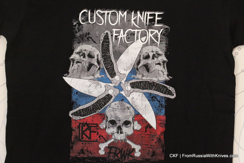 CKF Men's T-shirt -MUA- (XL-size)
