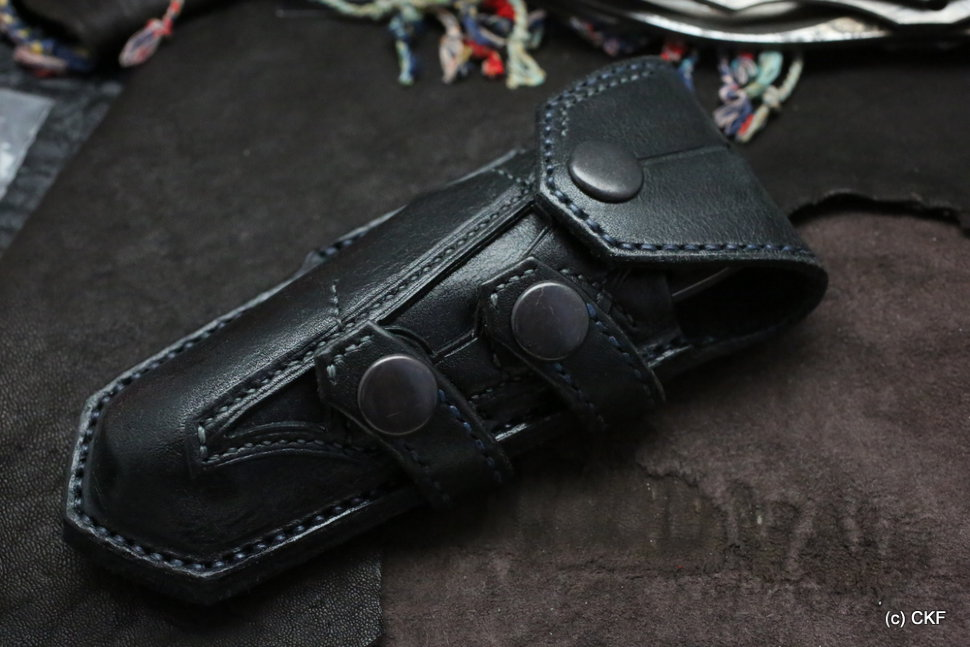 Custom knife holster for CKF Decepticon-1 knife
