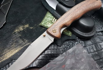 Yastreb knife (95Х18, wood)