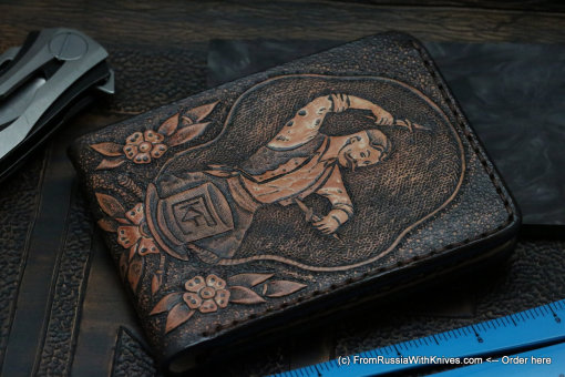 Custom Leather Wallet CKFTHRW1