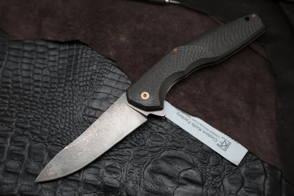 #12 Customized ELF Knife (Anton Malyshev design, Stas Bondarenko customization)