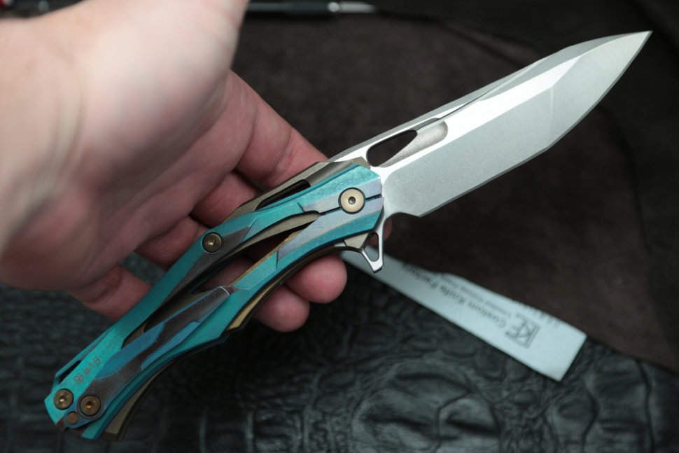 #15 Customized Decepticon-1 Knife (Alexey Konygin design, Stas Bondarenko customization)