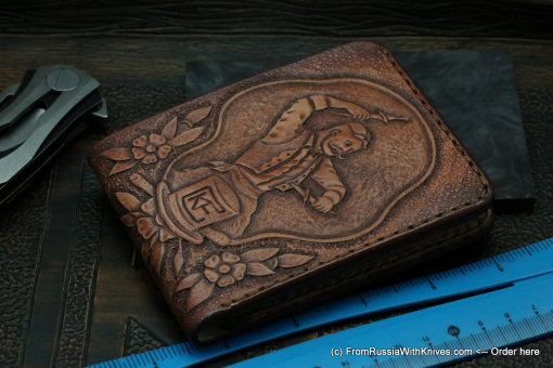 Custom Leather Wallet CKFTHRW 2