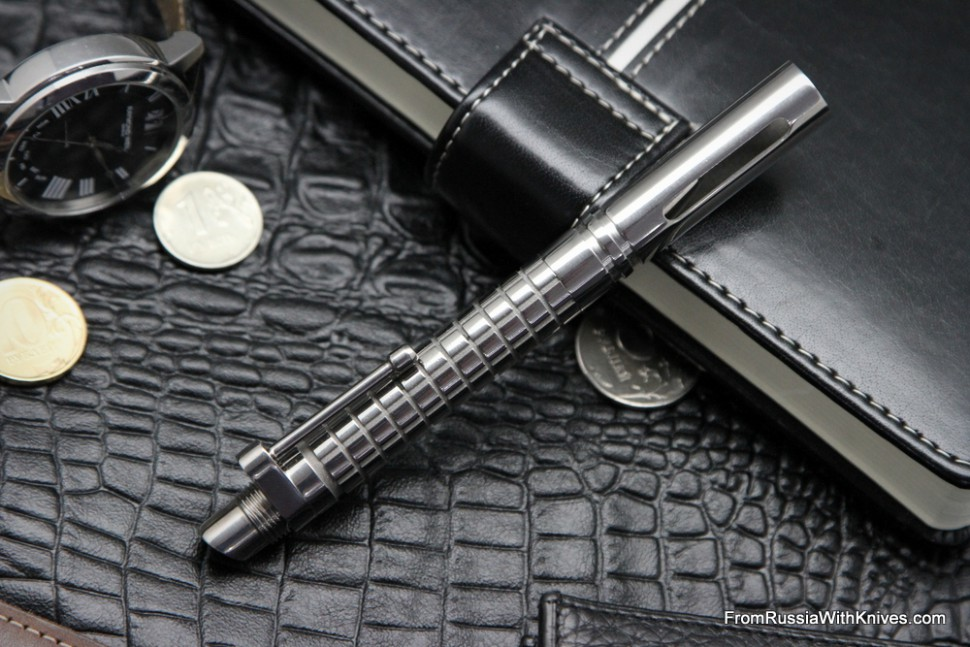 "Ball pen ""Legend M16"" (polished) by Dmitry Streltsov"