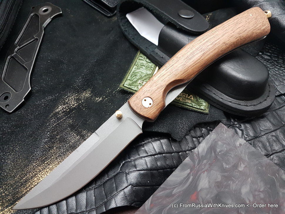 Kayros knife (95Х18, wood)