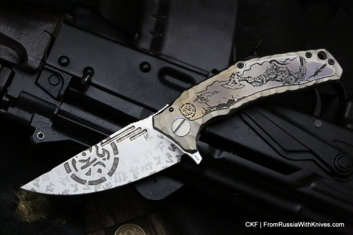 One-off Morrf 5 Knife -FTH-
