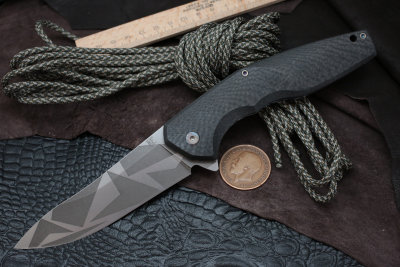 #17 ELF Knife (Anton Malyshev design, Stas Bondarenko customization)
