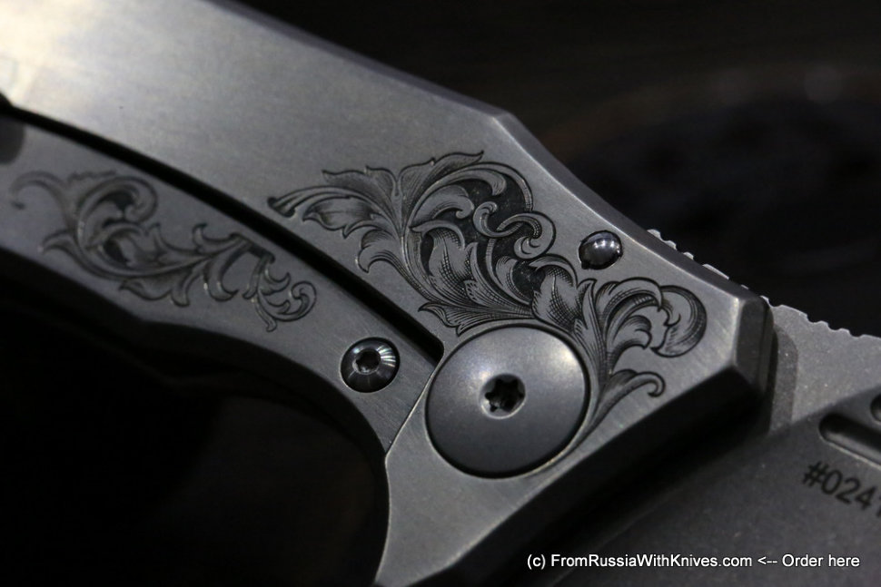 One-off Morrf-4 Knife Customized (engraving)