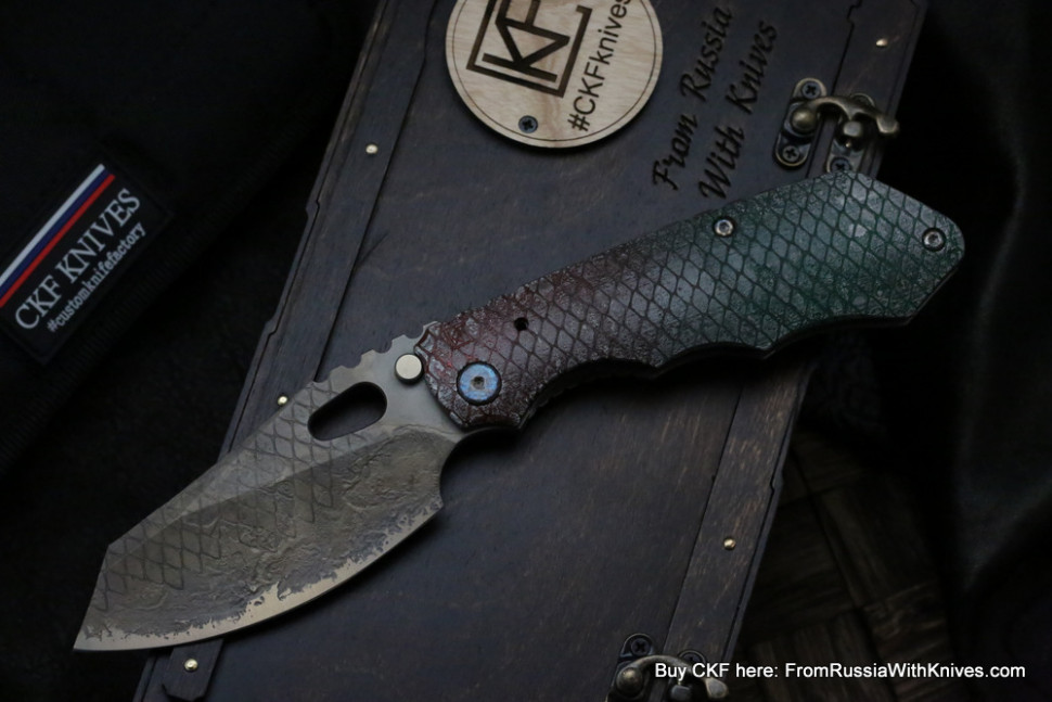 One-off CKF/Rotten.Design Evolution -Reptile-