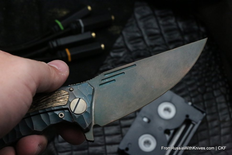 One-off Morrf 5 Knife -INL-