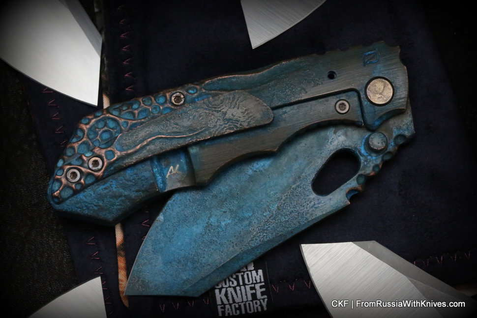 One-off CKF/Rotten.Design Evolution + Green Patina