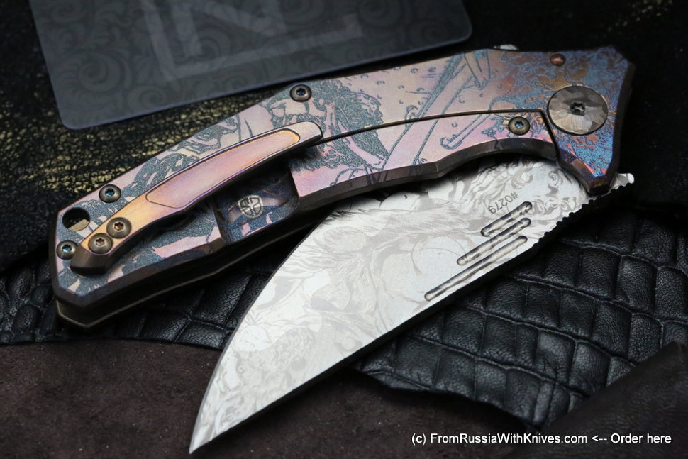 One-off customized Morrf Knife -TKTKD-