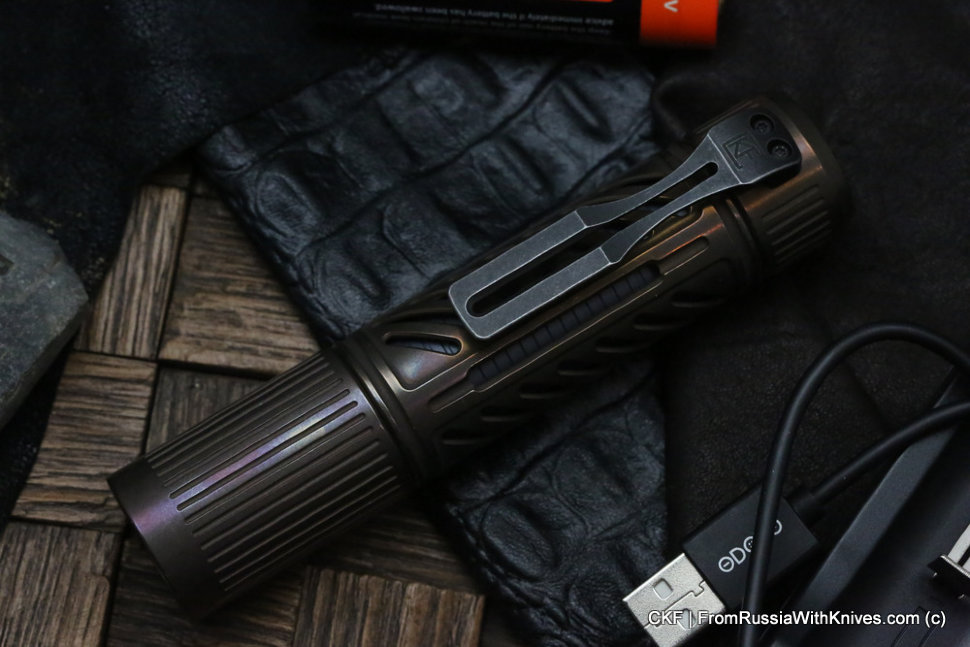 CKF Rama Dva Flashlight