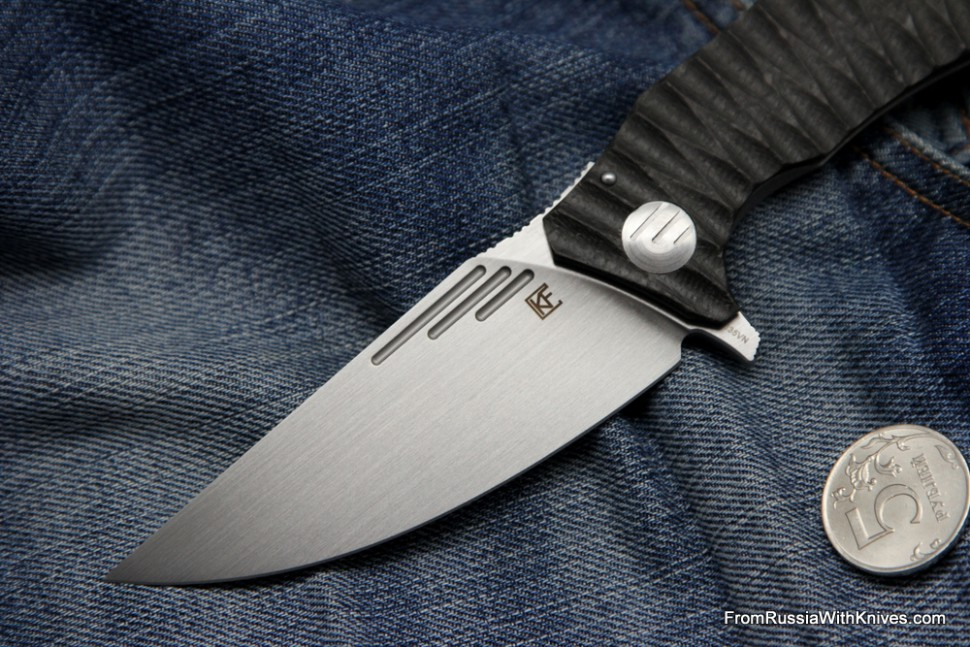 Morrf-3.2 Knife (Evgeny Muan design, S35VN, bearings, CF+Ti)