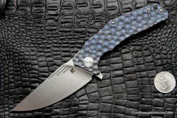 Morrf-2 Knife (Evgeny Muan design, S35VN, bearings, anodized Ti)