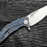 DISCONTINUED - Morrf-2 Knife (Evgeny Muan design, S35VN, bearings, anodized Ti)