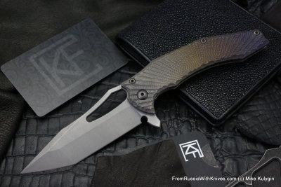 One-off -BRU- CKF/GAVKO SF knife