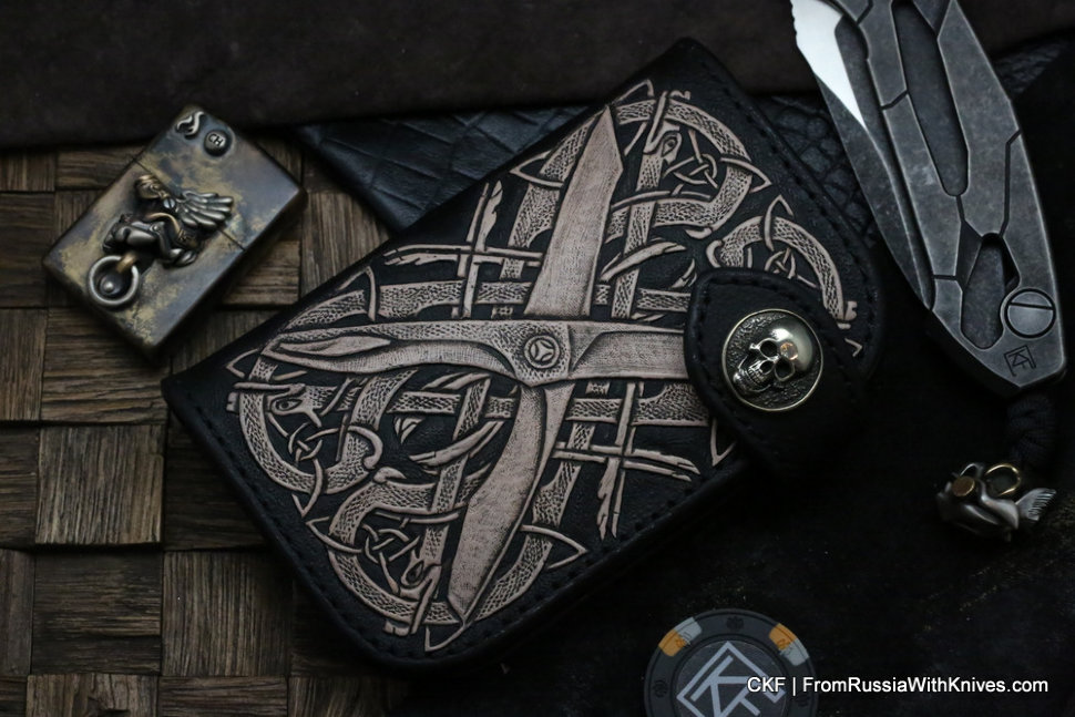 Custom Leather Wallet CKF Tegral-2