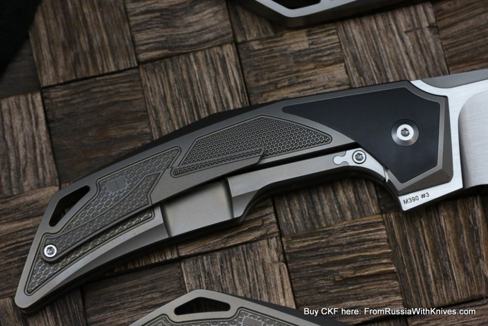 CKF/Tashi Bharucha Justice 2.0 collab knife - to US addresses  only