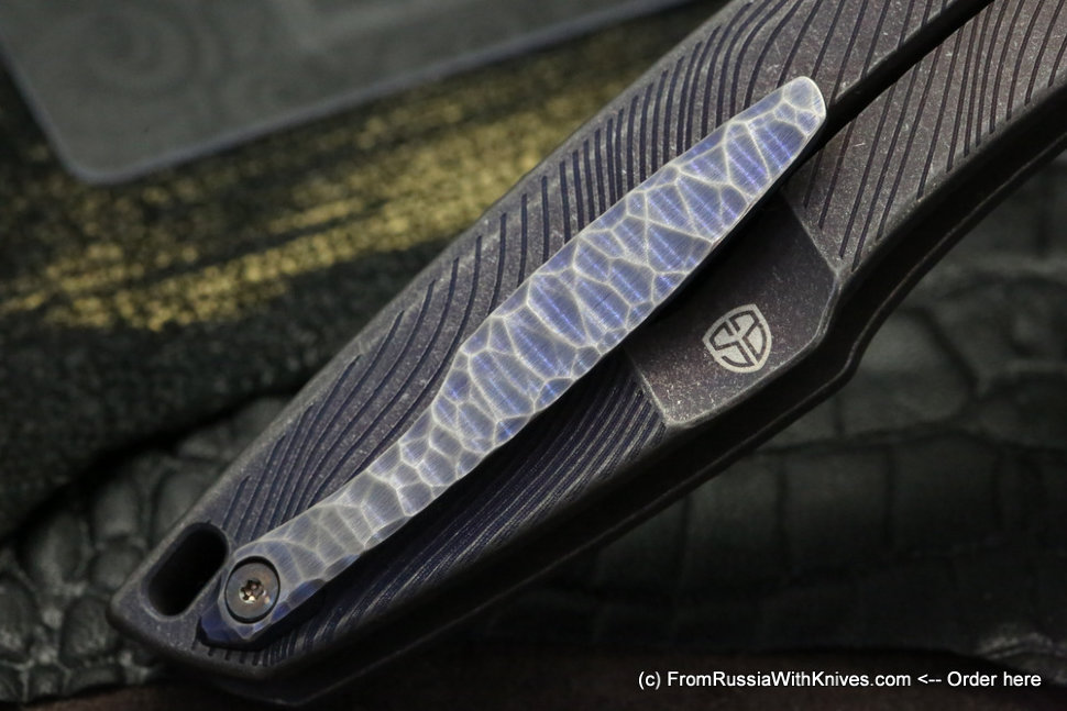 One-off customized Tegral knife -LNR-