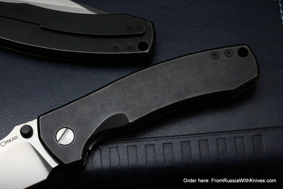 DISCONTINUED - MKAD by CKF - Loro knife (M390, Ti, limited batch)