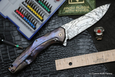 #21 ELF Knife (Anton Malyshev design, Stas Bondarenko customization)