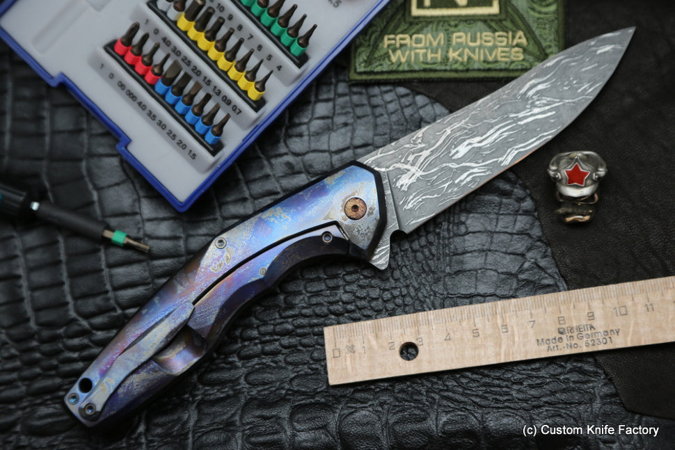 #20 ELF Knife (Anton Malyshev design, Stas Bondarenko customization)