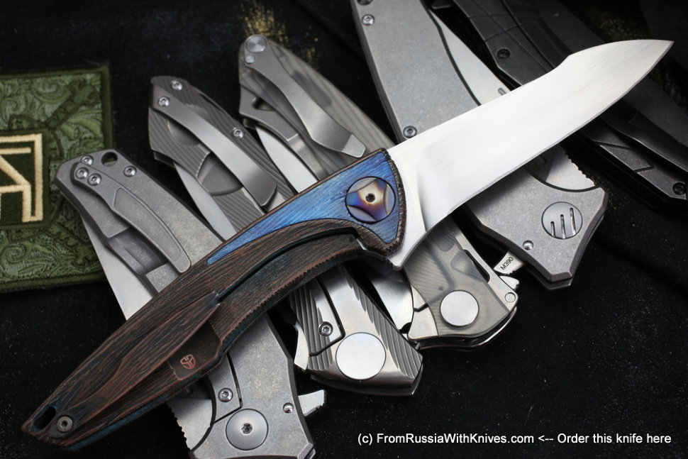 Customized Tegral knife -WOODY -