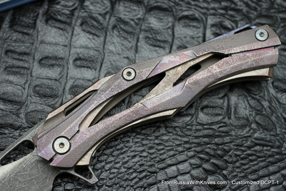 #4 Customized Decepticon-1 Knife (Alexey Konygin design, Stas Bondarenko customization)