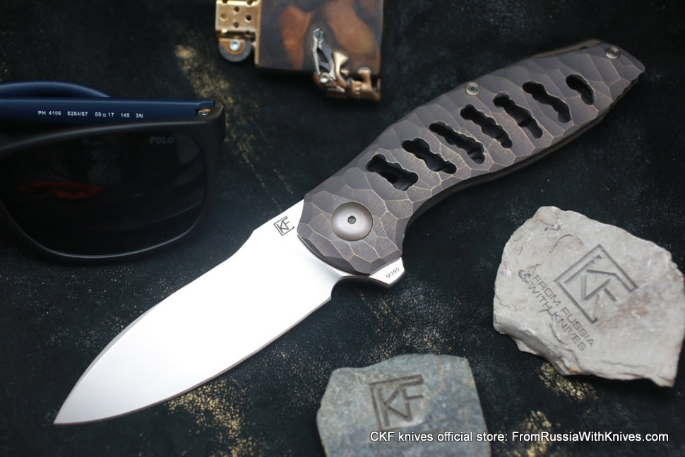 One-off Baugi knife -DYRK-