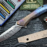 #22 Rabbit Knife customized (Alexey Konygin design, s35vn, titanium, bearings)