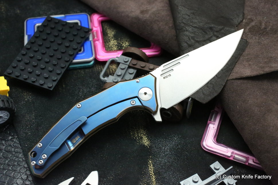 Customized Morrf Knife #4 (Design: Evgeniy Muan, Customization: Stas Bondarenko)