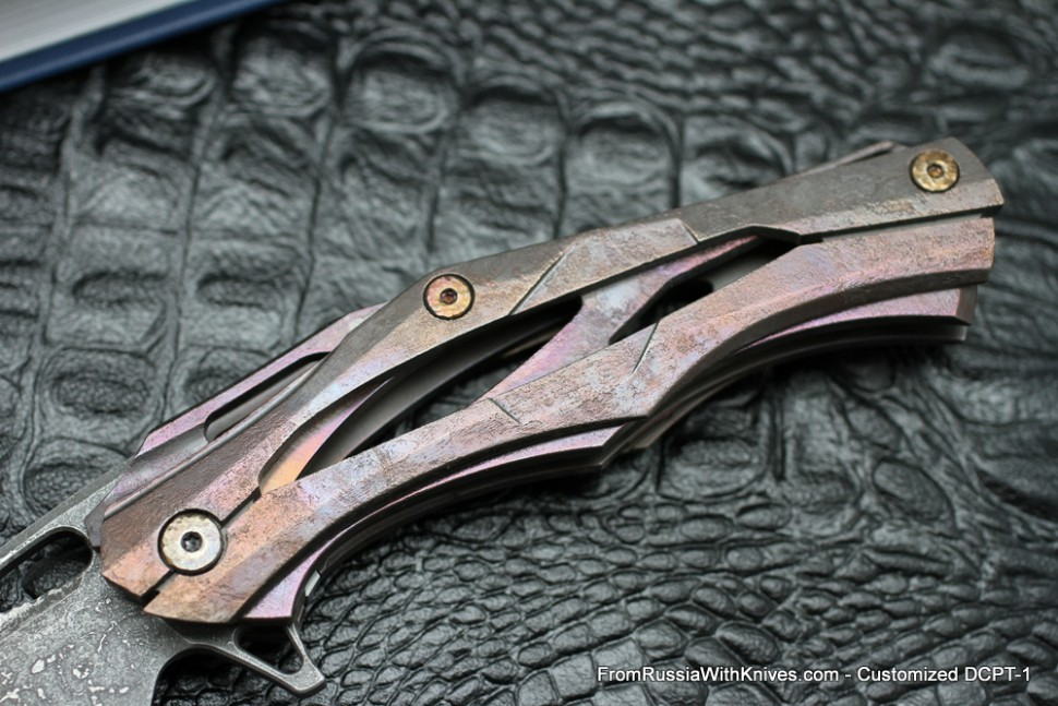 #7 Customized Decepticon-1 Knife (Alexey Konygin design, Stas Bondarenko customization)