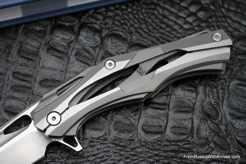 Discount: Decepticon-1 Knife (Alexey Konygin design, s35vn, bearings, titanium)