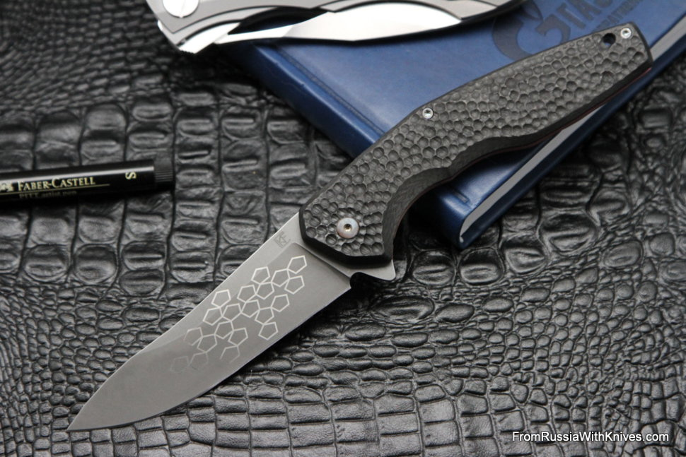 #8 Customized ELF Knife (Anton Malyshev design, Stas Bondarenko customization)