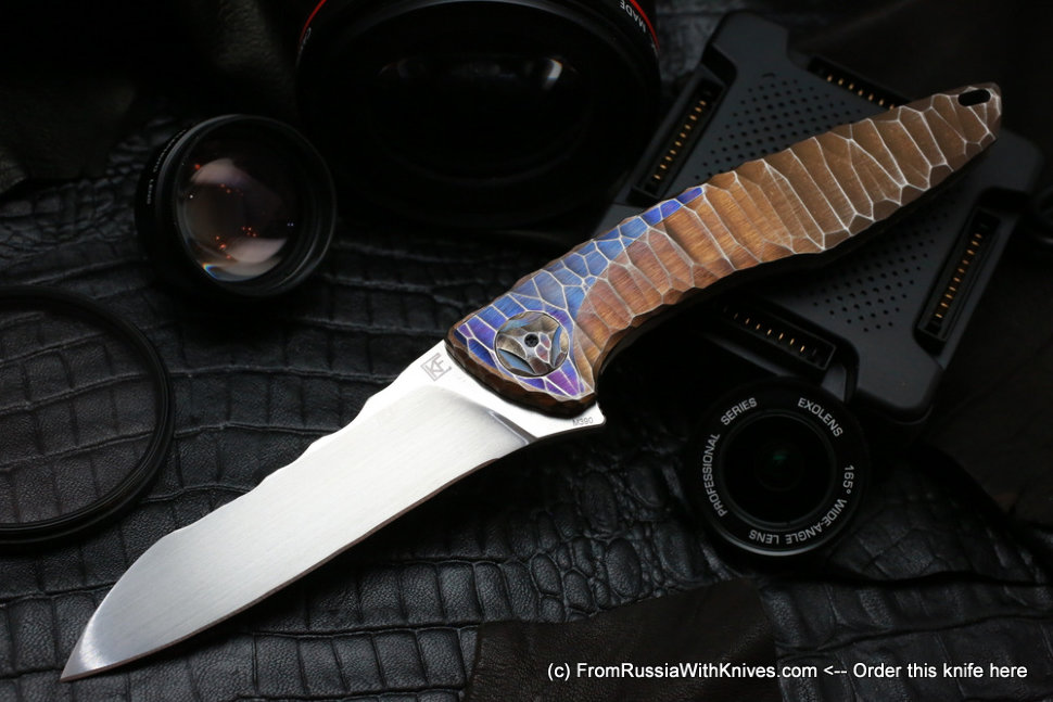 One-off customized Tegral knife -NKDSP-