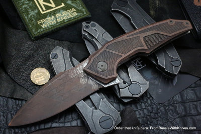 One-off CKF Muscle knife - CPPRUZ -