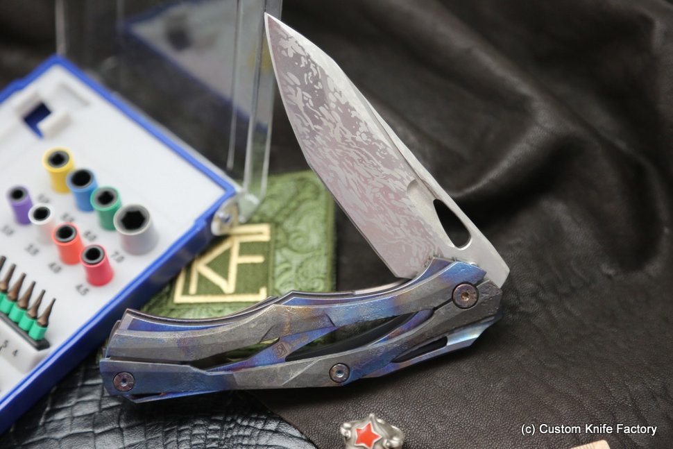 #51 Customized Decepticon-1 Knife (Alexey Konygin design, Stas Bondarenko customization)