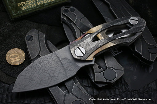 One-off CKF DCPT-4 knife -SHUM-