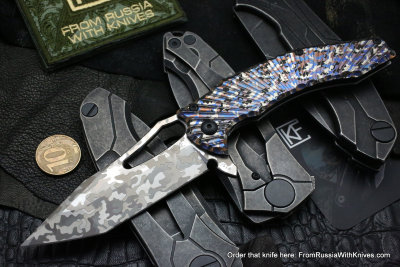 One-off CKF/GAVKO SF knife - CAMODVA -