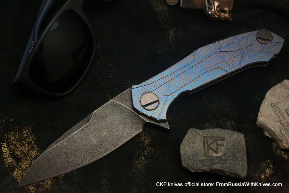 One-off CKF T92 knife -CHPOK-